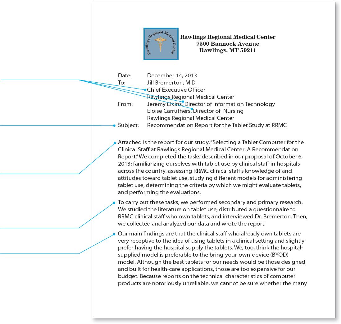 sample recommendation report. Black Bedroom Furniture Sets. Home Design Ideas