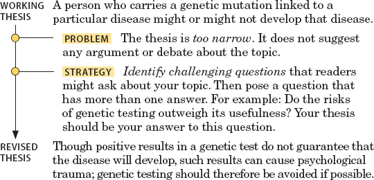 thesis statement on genetic testing