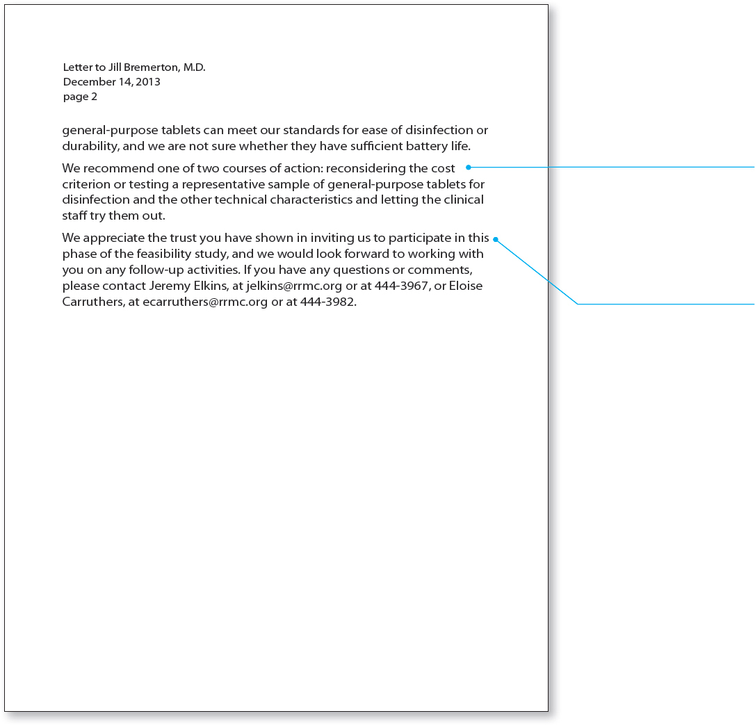 Writing A Generic Letter Of Recommendation from www.macmillanhighered.com